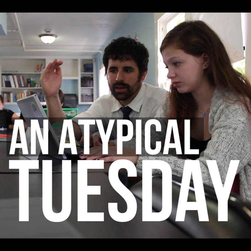 Week 16 (A) – An Atypical Tuesday In The Life of A Teacher / Filmmaker