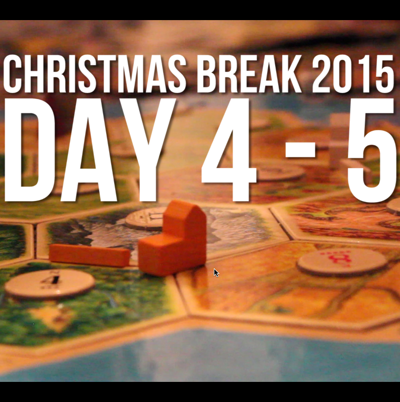 Christmas Break Vlogging 3 – A Christmas In Catan