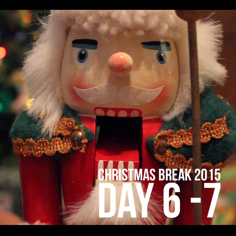Christmas Break Vlogging 4 – A Merry Christmas Eve