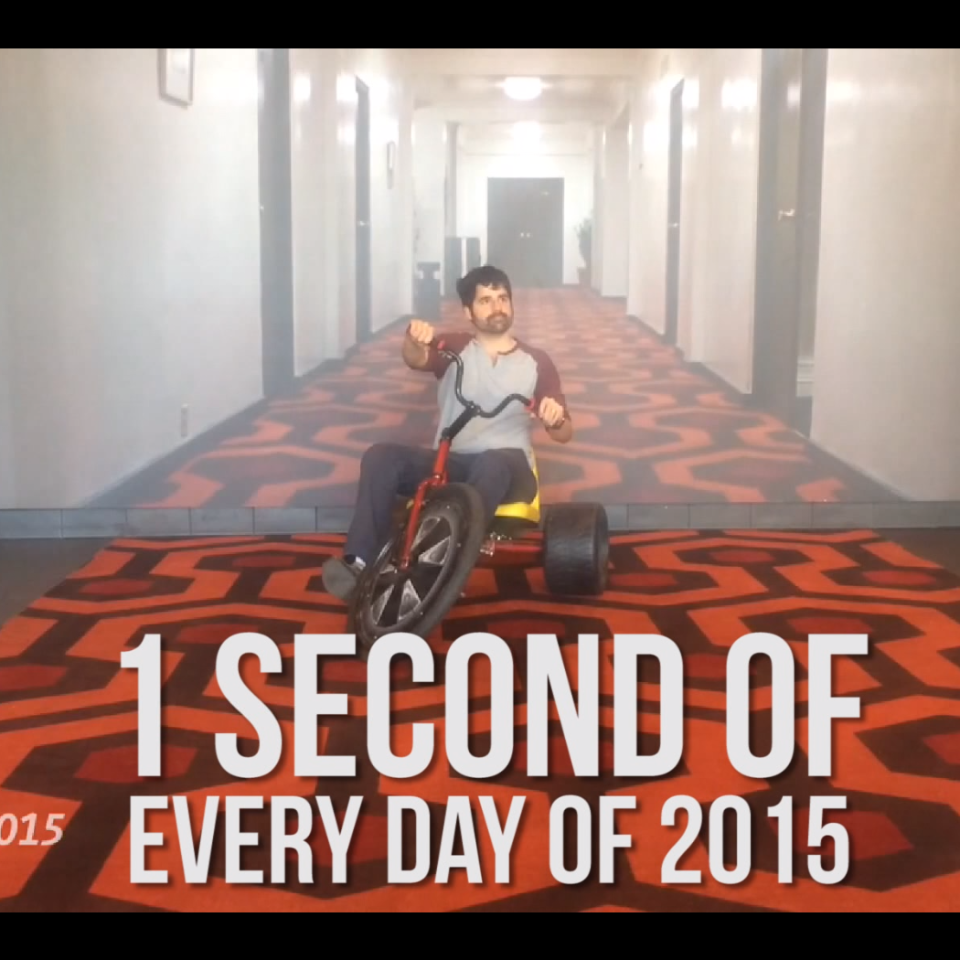 Filming One Second of Every Day of 2015