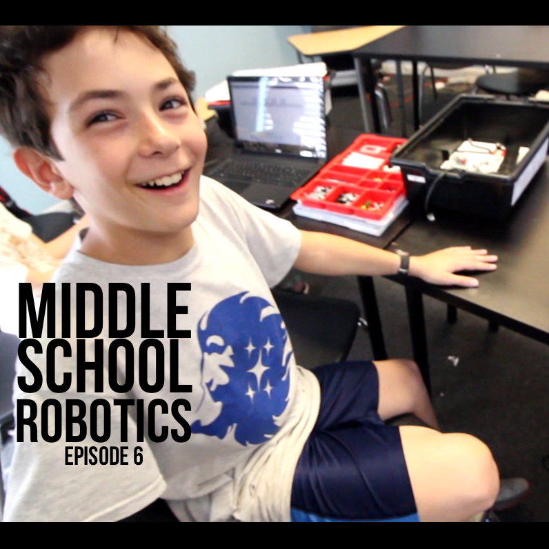 Middle School Robotics – Episode 6 : Testing Their 'Gold Digging' Bot & Tag For Millennials