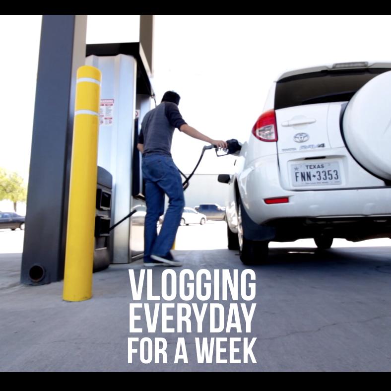 Vlogging Everyday For A Week
