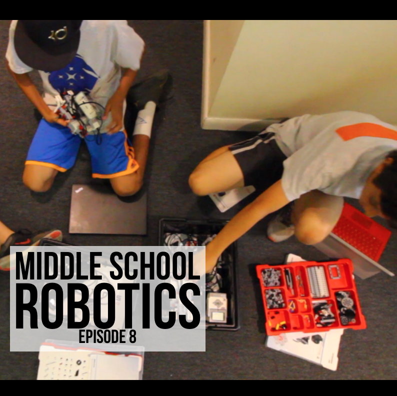 Middle School Robotics Episode 8: Rovers Inspired By 'The Martian'