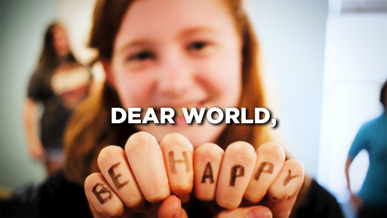 Dear World…Messages From Middle Schoolers